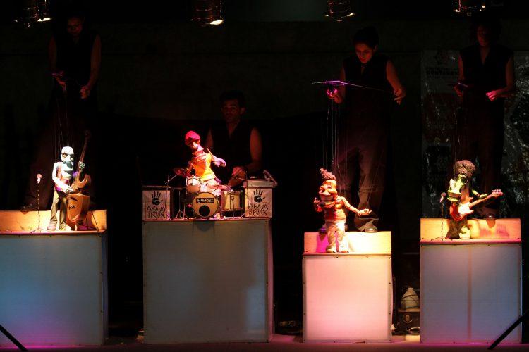 Belo Horizonte_MG, 29 de Agosto de 2014  Espetaculo do grupo de teatro Armatrux realizado na FUNDAC em Contagem.FOTO: ANGELO PETTINATI / NITRO